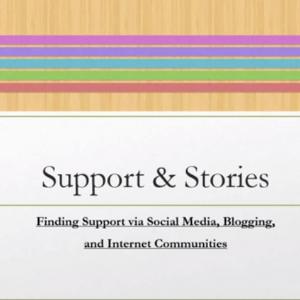 Finding Support via Social Media